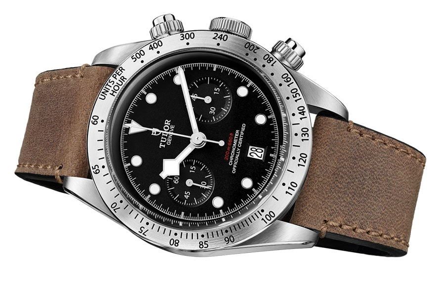 Platz 5 der beliebtesten Uhrenmodelle 2017: Tudor Heritage Black Bay