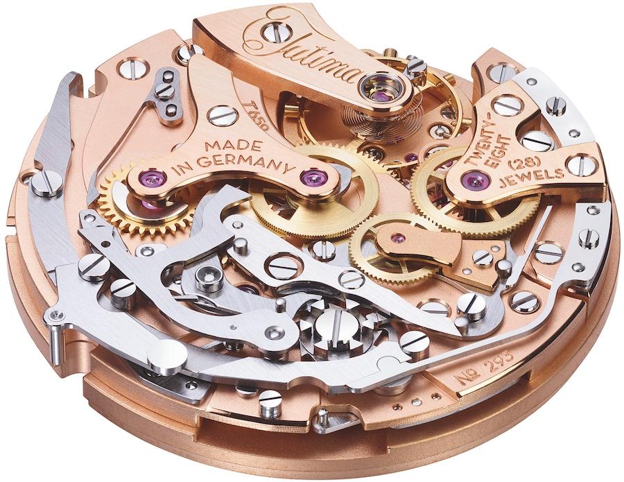 Das neue Chronographenkaliber Tutima T659 ist eine komplette Eigenentwicklung.