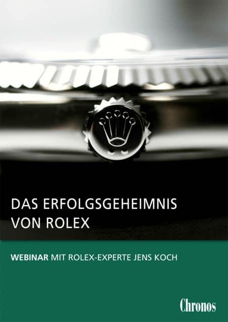 Webinar: Das Erfolgsgeheimnis von Rolex