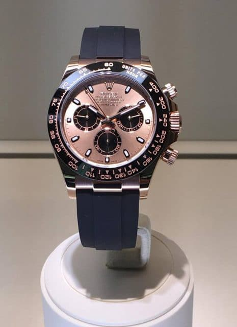Rolex: Oyster Perpetual Cosmograph Daytona in Everose-Gold, gesehen auf der Baselworld 2017