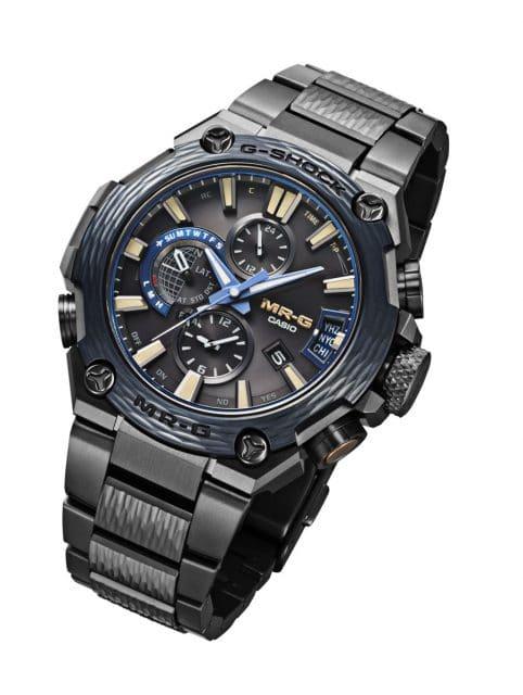 Casio: G-Shock MRG-G2000HT mit Indigo-Finish