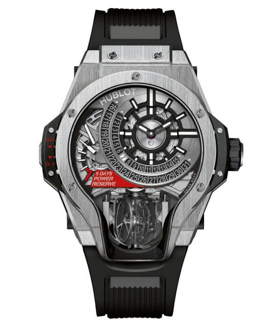 Hublot: MP-09 Tourbillon Bi-Axis