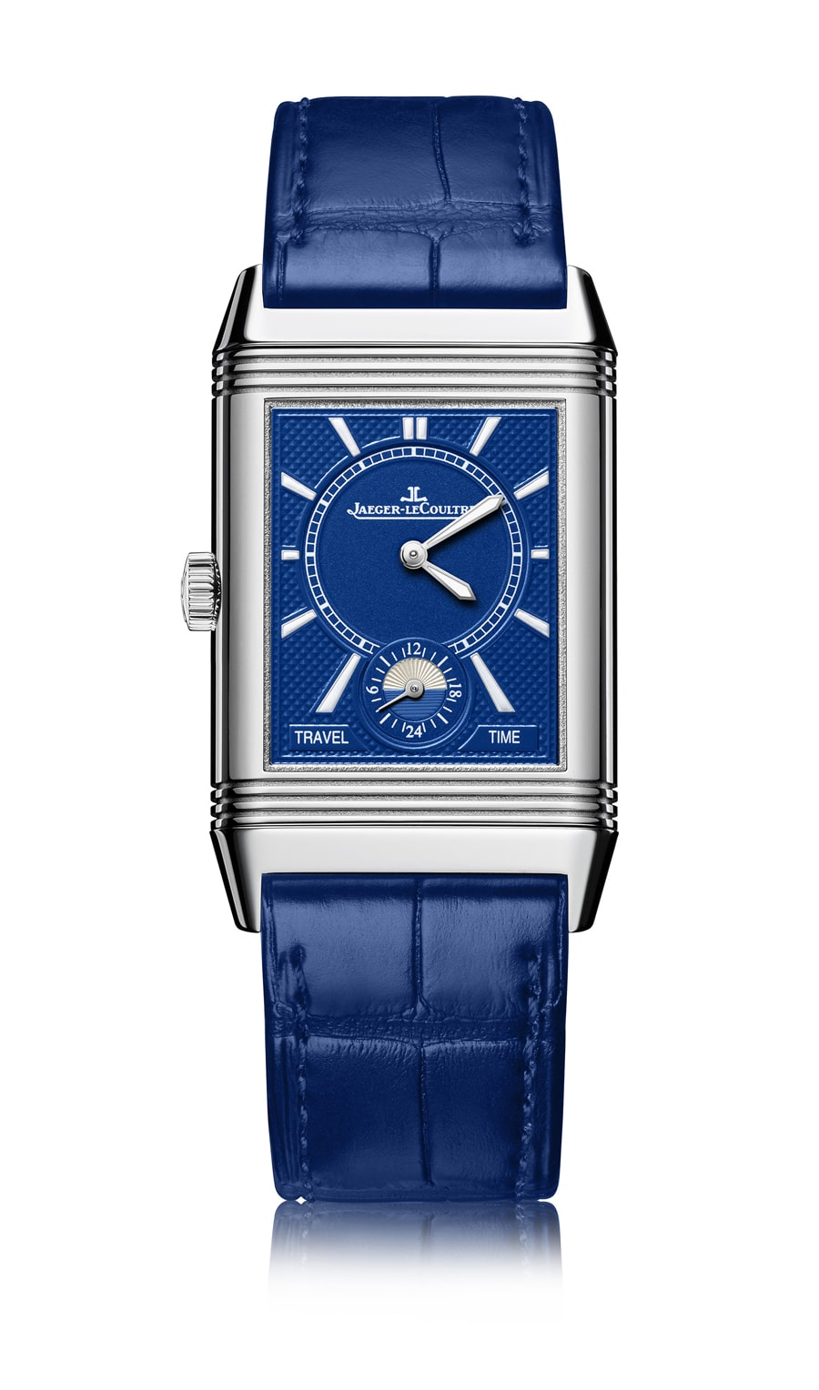 Jaeger-LeCoultre: Reverso Classic Large Duoface Small Second Electric Blue
