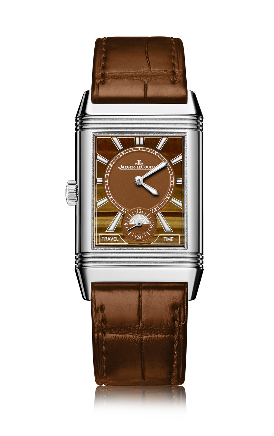 Jaeger-LeCoultre: Reverso Classic Large Duoface Small Second Tiger Eye