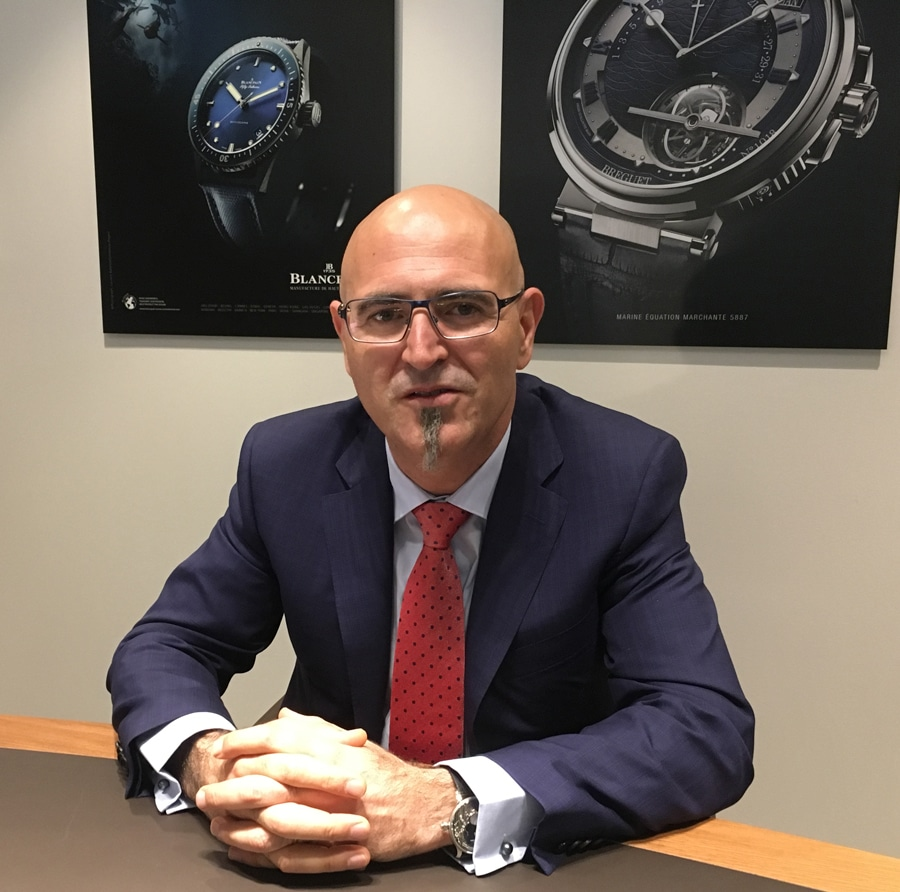Marc A. Hayek, Chef der Swatch-Group-Marken Breguet, Blancpain und Jaquet Droz