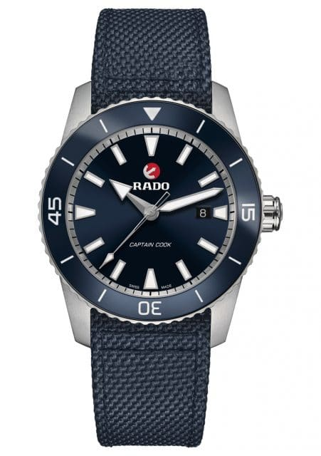 Rado: HyperChrome Captain Cook in Titan