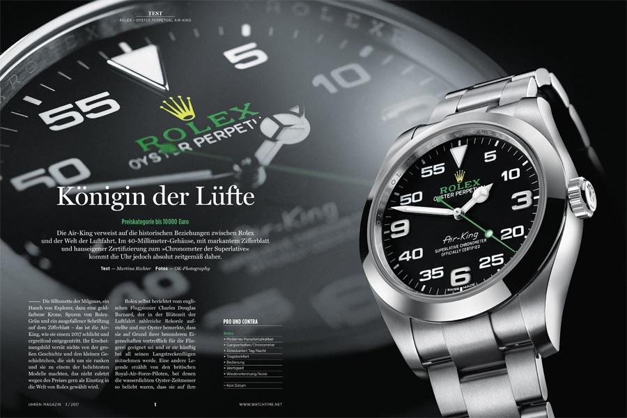 Die Rolex Air-King ist dank ihres erschwinglichen Preises ein schwer nachgefragtes Modell. Wir verraten, ob sich das Warten lohnt.