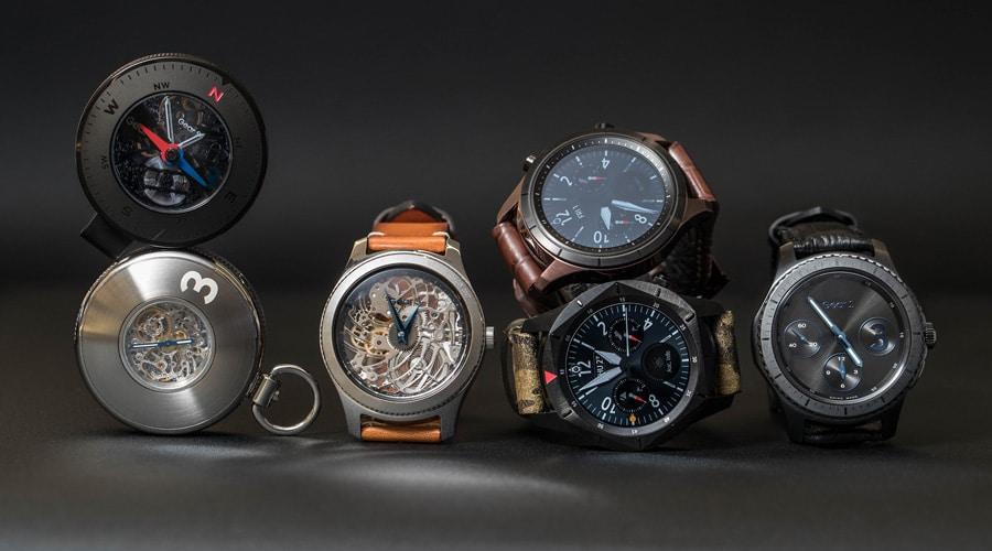 Die drei Uhrenkonzepte zur Samsung Gear S3 auf einen Blick