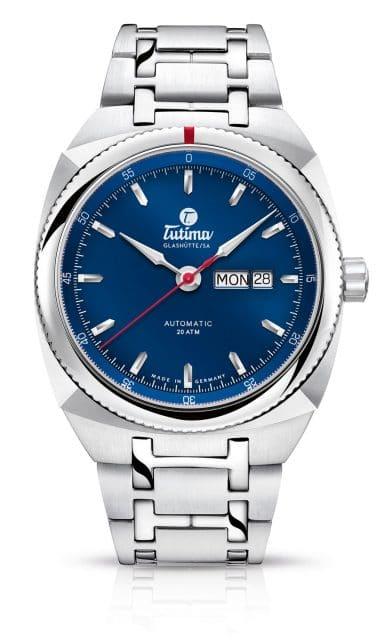 Tutima: Saxon One Automatic Royal Blue