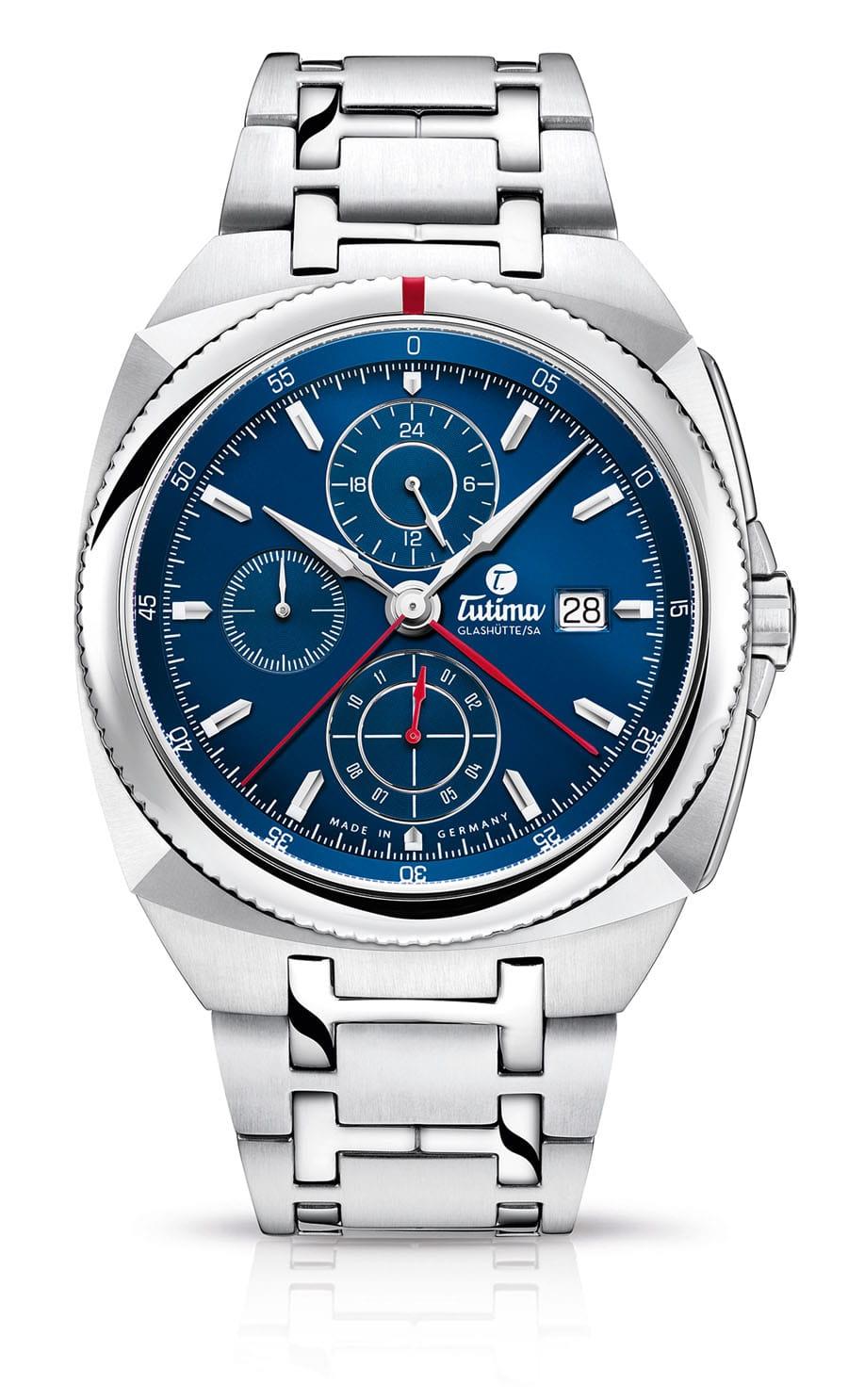 Tutima: Saxon One Chronograph Royal Blue