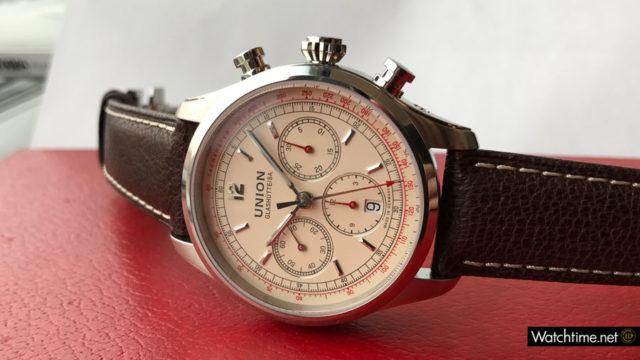 Der Chronograph wird in Glashütte gefertigt