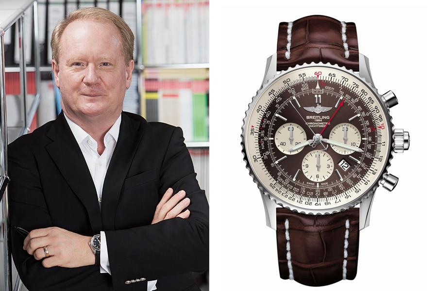 Breitling Navitimer Rattrapante: Die beste Uhr der Baselworld 2017 für Thomas Wanka, Chefredakteur UHREN-MAGAZIN