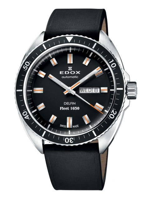 Edox: Delfin Fleet 1650 Limited Edition in Edelstahl
