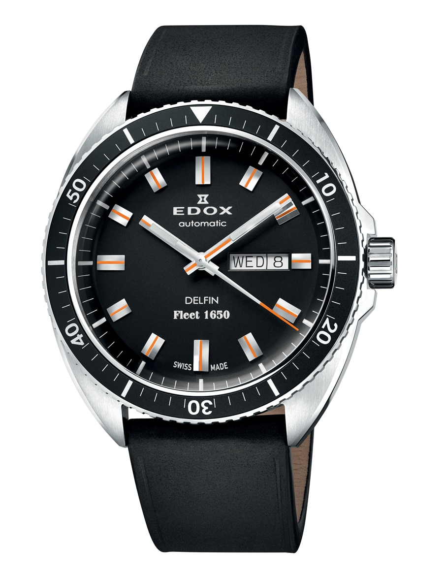 Edox: Delfin Fleet 1650 Limited Edition in Edelstahl