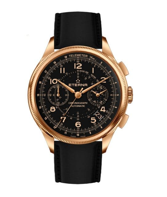 Eterna: 1940 Telemeter Chronograph Flyback Bronze Manufacture