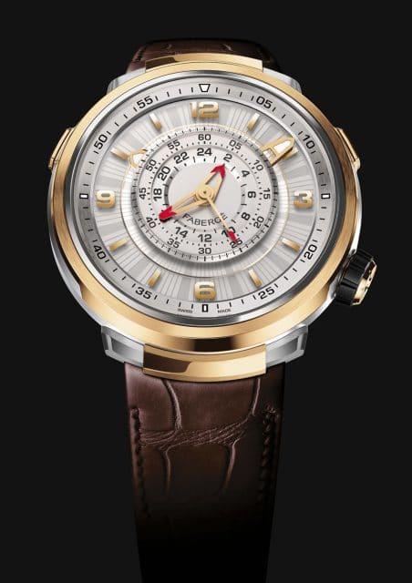 Fabergé: Visionnaire Chronograph in Roségold