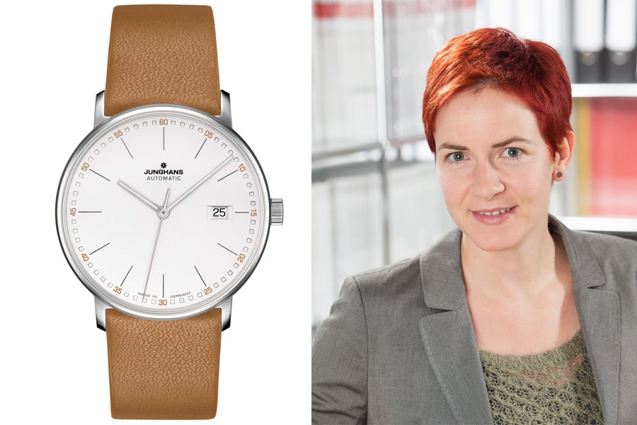Junghans Form Automatic: Die beste Uhr der Baselworld 2017 für Gwendolyn Benda, Transaction Editor Watchtime.net