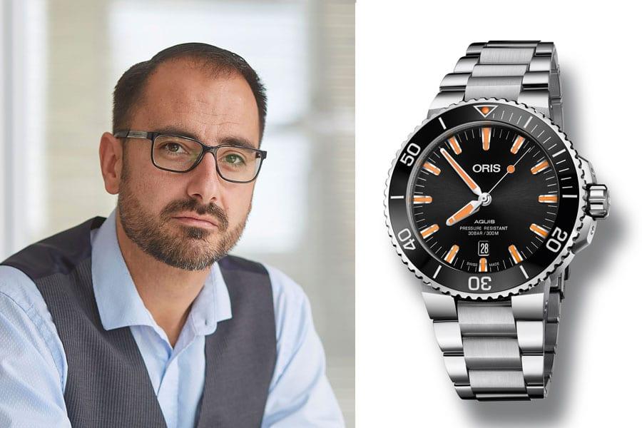 Oris Aquis Date: Die beste Uhr der Bselworld 2017 für Alexander Krupp, Redakteur Chronos