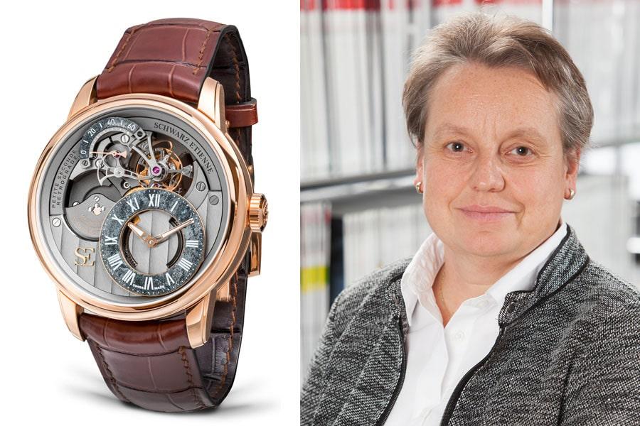 Schwarz Etienne La Chaux-de-Fonds Tourbillon Petite Seconde Rétrograde: Die beste Uhr der Baselworld 2017 für Martina Richter, stellvertretende Chefredakteurin UHREN-MAGAZIN