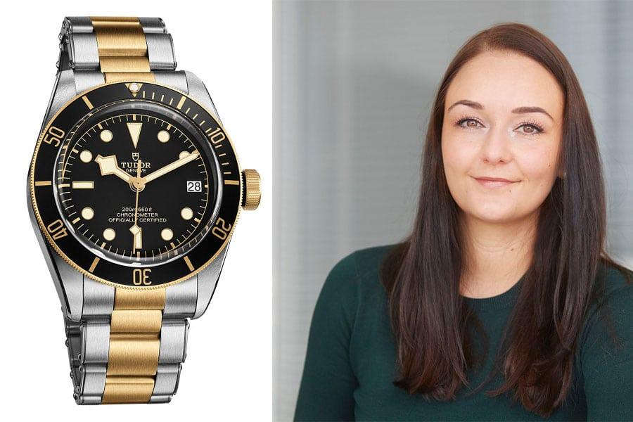 Tudor Heritage Black Bay S&G: Die beste Uhr der Baselworld 2017 für Melanie Feist, verantwortliche Online-Redakteurin Watchtime.net