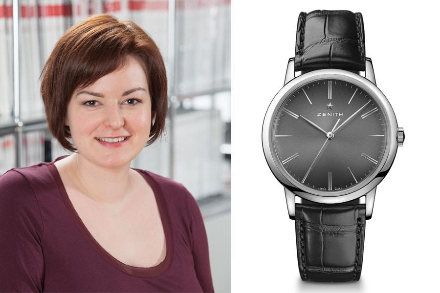 Zenith Elite Classic: Die beste Uhr der Baselworld 2017 für Melissa Gößling, Redakteurin UHREN-MAGAZIN