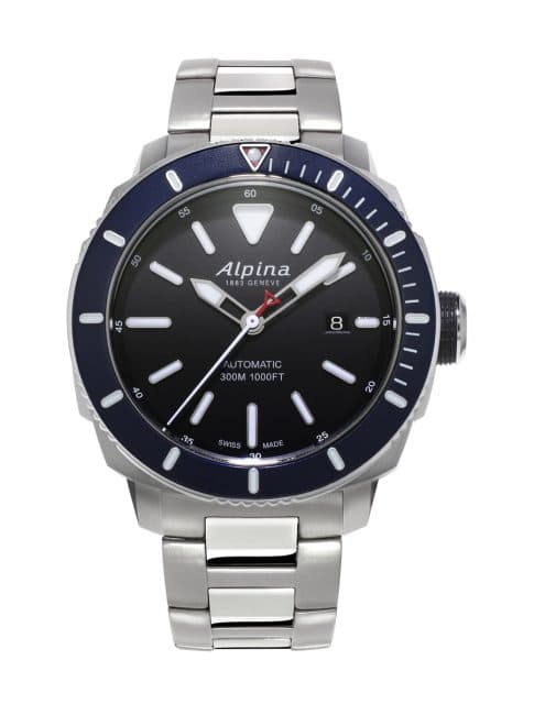 Die Alpina Seastrong Diver 300 Automatic in Edelstahl