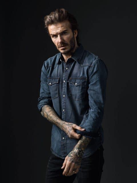 David Beckham: neuer Markenbotschafter von Tudor