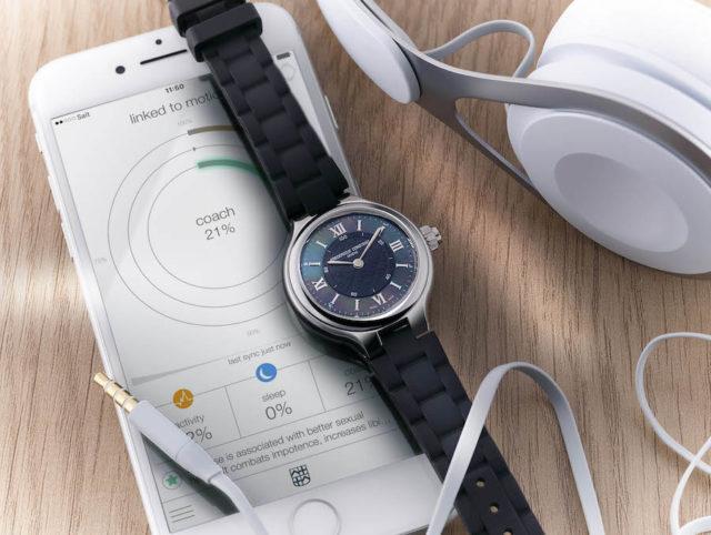 Die Frédérique Constant Horological Smart Watch Ladies wurde auf der Baselworld 2017 vorgestellt