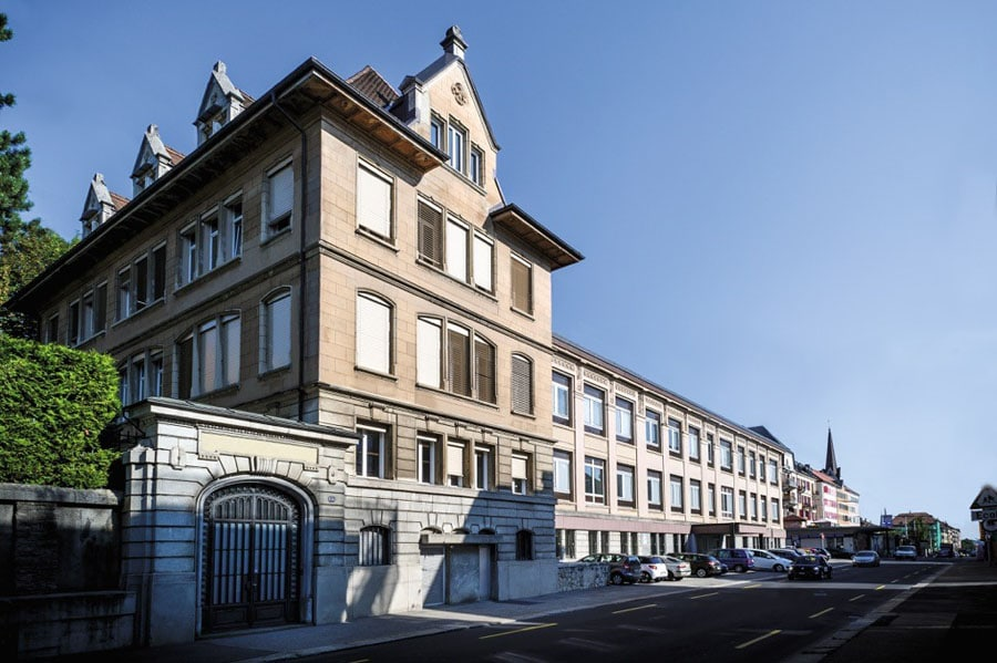 Girard-Perregaux: Manufakturgebäude