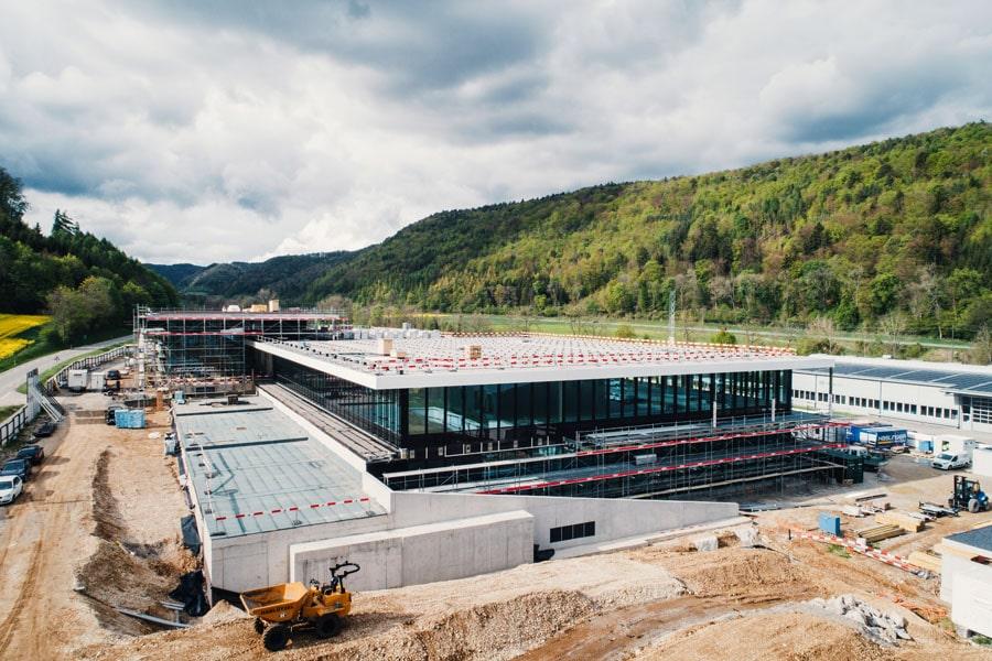 Soll im Juni 2018 eröffnet werden: das neue Manufakturgebäude von IWC