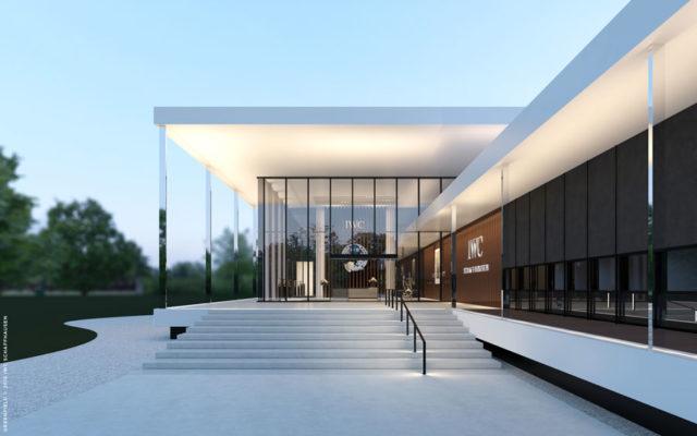 Auf ingesamt 13.500 Quadratmetern errichtet IWC ihr neues Manufakturgebäude