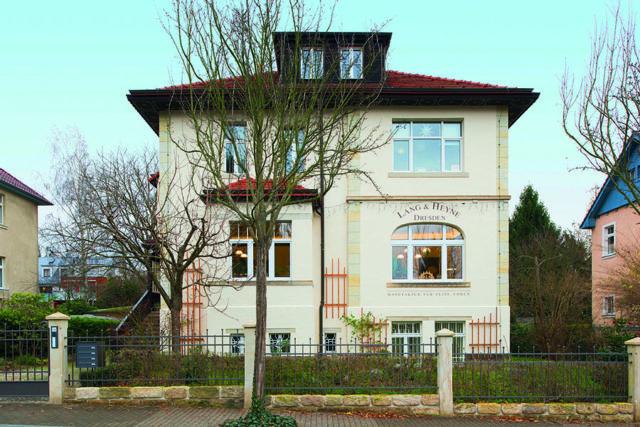 Bei der Restaurierung der Lang & Heyne-Villa in Dresden halfen alle mit