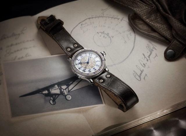 Die Original-Stundenwinkeluhr, die gemeinsam mit Charles Lindbergh entwickelt worden ist, wird im Longines Museum in Saint-Imier ausgestellt und diente als Vorlage für The Lindbergh Hour Angle Watch 90th Anniversary.