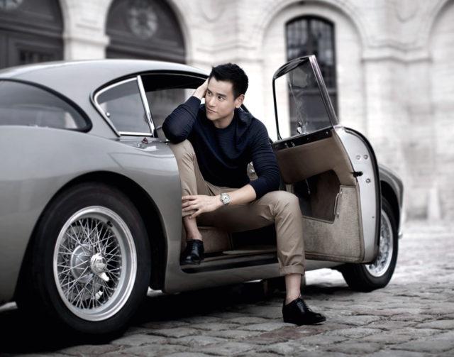 Longines-Markenbotschfter Eddie Peng