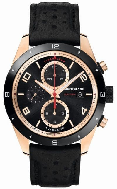 Montblanc: TimeWalker Chronograph Automatic in Rotgold