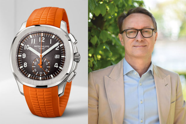 Holger Christmann, Chefredakteur UHREN-MAGAZIN, empfiehlt den Patek Philippe Aquanaut Chronograph