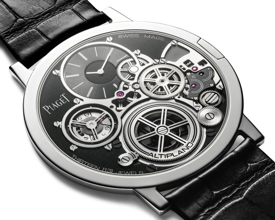 Die Piaget Altiplano Ultimate Concept ist die derzeit flachste mechanische Uhr der Welt.