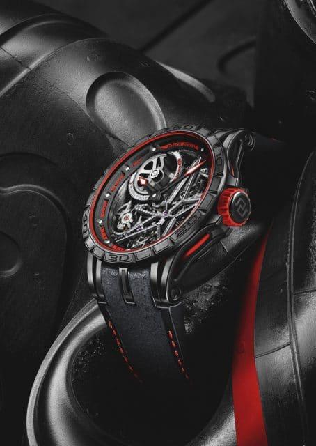 Roger Dubuis: Excalibur Spider Pirelli Red