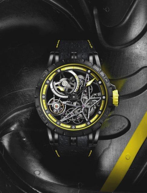 Roger Dubuis: Excalibur Spider Pirelli Yellow