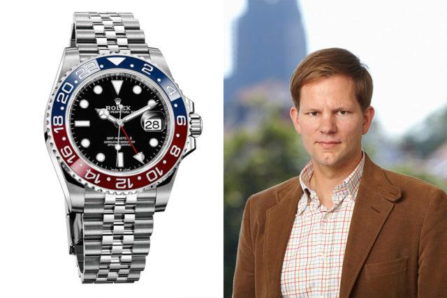 Sportliche Empfehlung von Chronos-Redakteuer Jens Koch: Rolex GMT-Master II