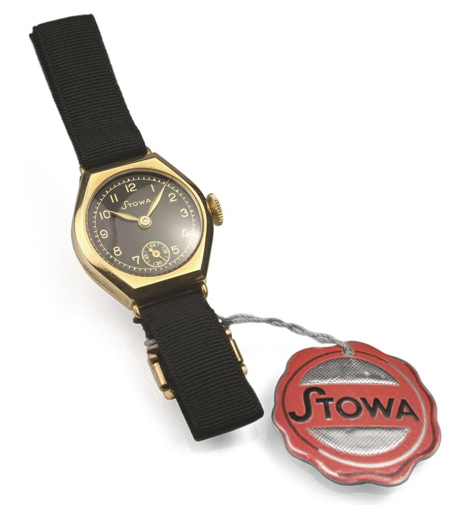 Die erste Stowa-Uhr aus dem Jahr 1927