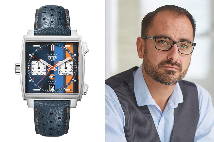 Chronos-Redakteur Alexander Krupp empfiehlt die TAG Heuer Monaco Gulf Special Edition