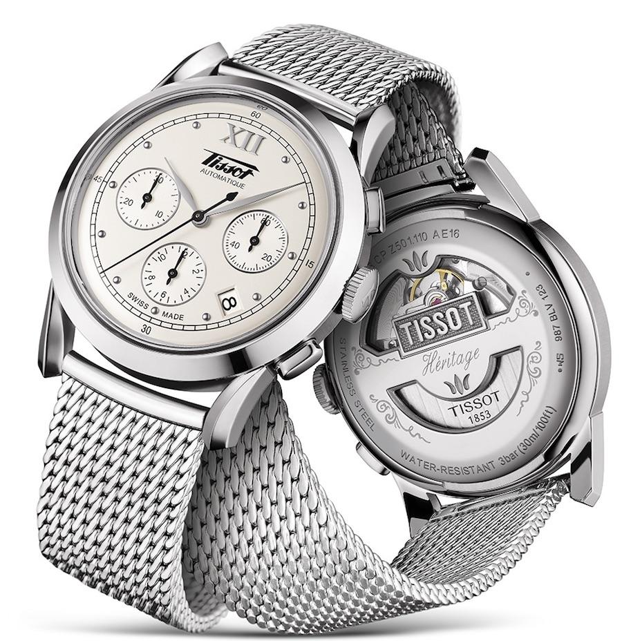 Die Tissot Heritage 1948 verknüpft ein historisches Design mit modernen Attributen und beherbergt ein automatisches Chronographenwerk.