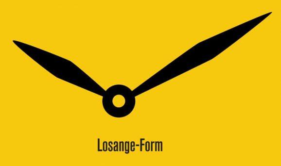 Zeigerform: Losange-Form