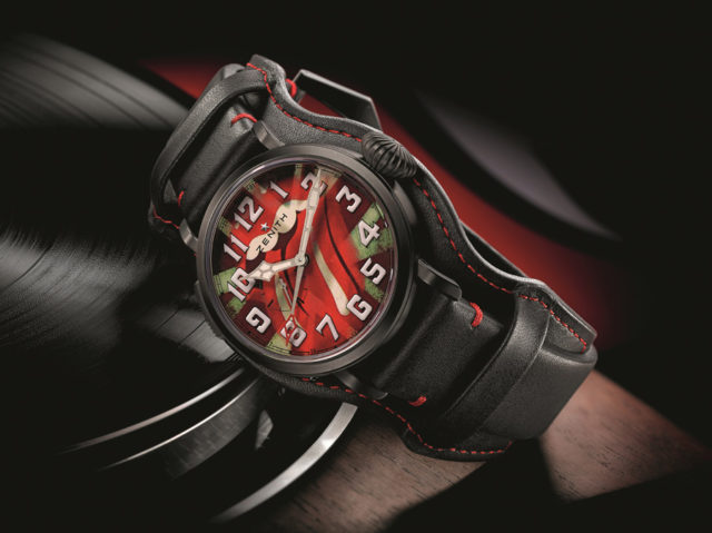 Zenith: Pilot Type 20 GMT Tribute to the Rolling Stones