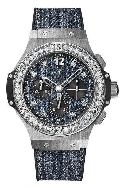 Hublot: Big Bang Jeans Steel Diamonds 41 mm