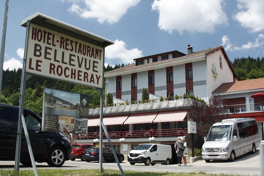 Das Spezialitätenrestaurant ist bekannt für seinen Fisch aus dem Lac de Joux.