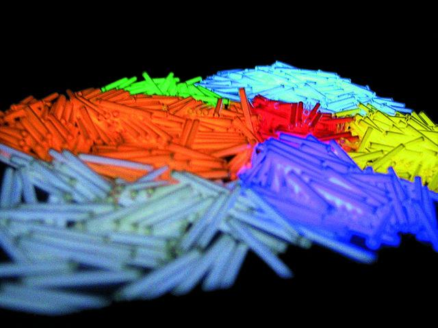 Tritium-Mineralglas-Stäbchen