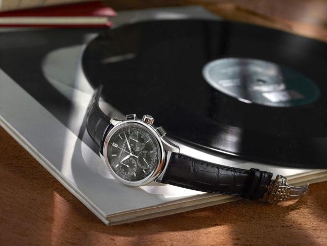 Frédérique Constant: Flyback Chronograph Manfacture in Edelstahl mit grauem Zifferblatt