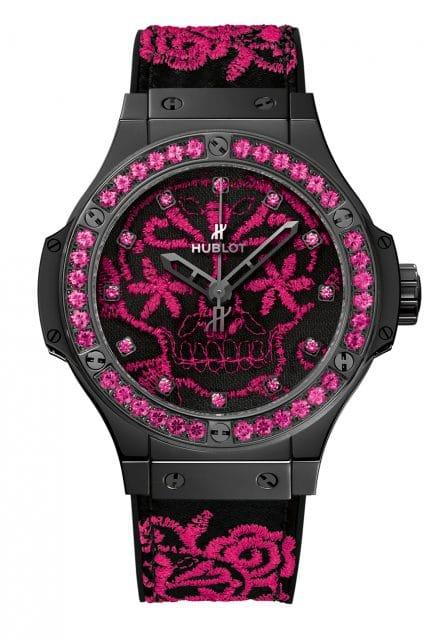 Hublot: Big Bang Sugar Skull Fluo Hot Pink